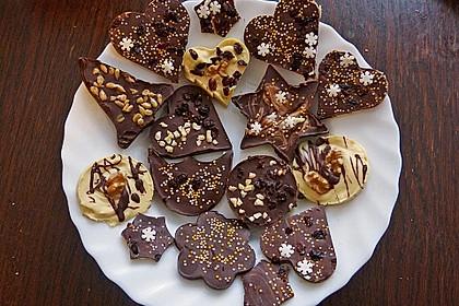 Bunte Bruchschokolade zum Verschenken 15