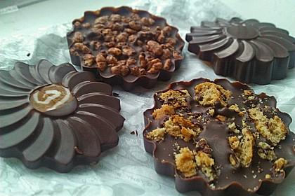 Bunte Bruchschokolade zum Verschenken 13