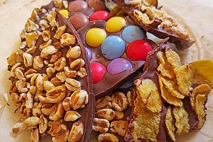 Bunte Bruchschokolade zum Verschenken 11