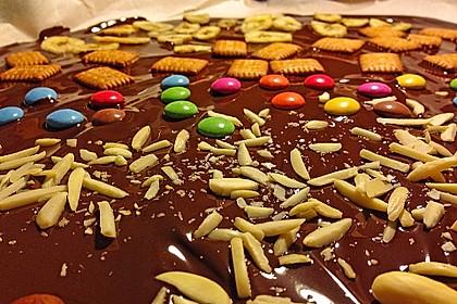 Bunte Bruchschokolade zum Verschenken 16