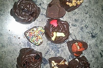 Bunte Bruchschokolade zum Verschenken 43