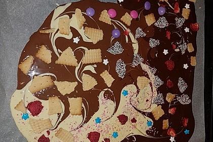 Bunte Bruchschokolade zum Verschenken 20
