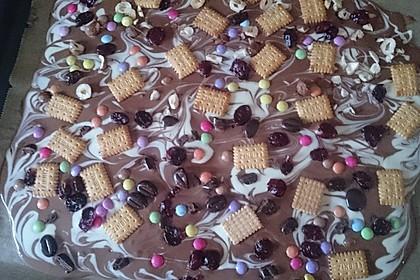 Bunte Bruchschokolade zum Verschenken 17