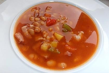 Serbische Bohnensuppe 6