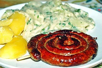 Kohlrabi-Gemüse mit heller Sauce 2