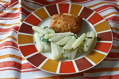 Kohlrabi-Gemüse mit heller Sauce 15