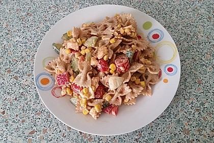 Knackiger Nudelsalat ohne Fleisch 1