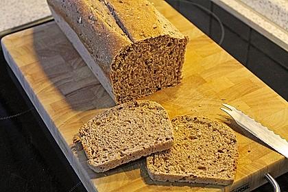 Weizenvollkorn-Toastbrot