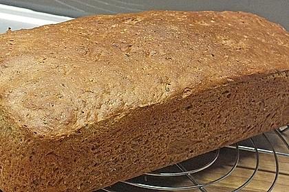 Weizenvollkorn-Toastbrot 4
