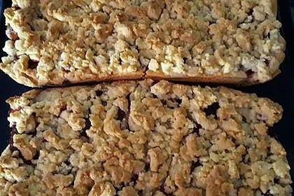 Zwetschgenkuchen mit Mohnquark + Butterstreuseln 23