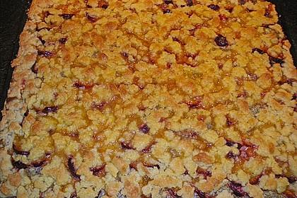 Zwetschgenkuchen mit Mohnquark + Butterstreuseln 28