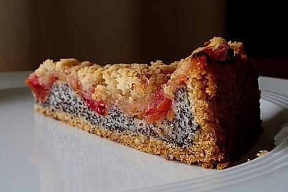 Zwetschgenkuchen mit Mohnquark + Butterstreuseln 6