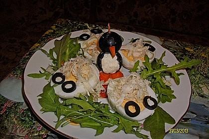 Kleine Pinguine mit Traubenfrack und Karottenfüßchen 52