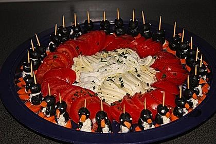 Kleine Pinguine mit Traubenfrack und Karottenfüßchen 14