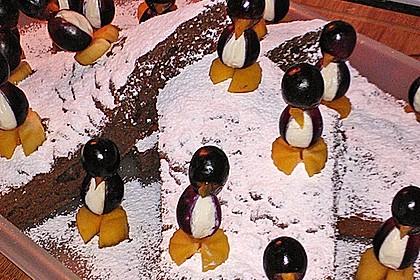 Kleine Pinguine mit Traubenfrack und Karottenfüßchen 28