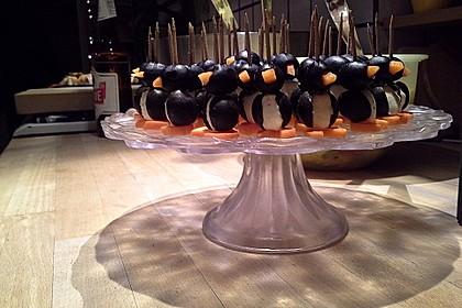 Kleine Pinguine mit Traubenfrack und Karottenfüßchen 20