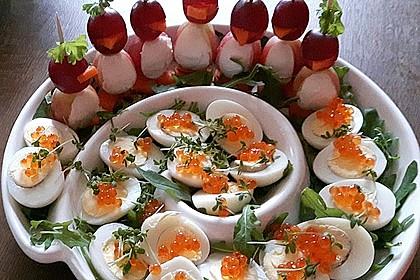 Kleine Pinguine mit Traubenfrack und Karottenfüßchen 19