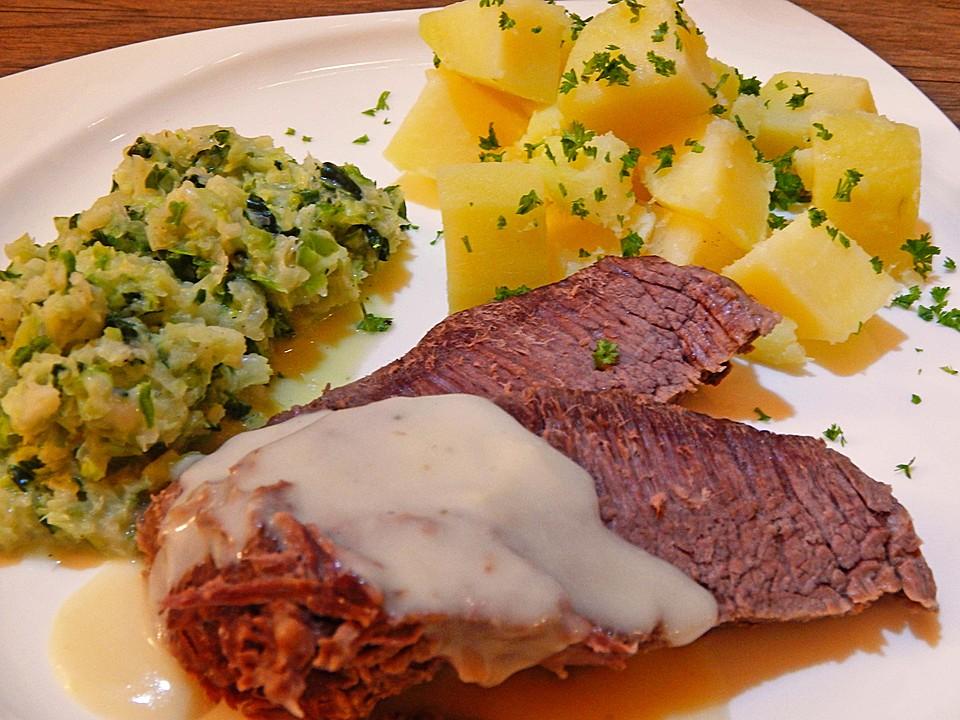 Tafelspitz Mit Meerrettichsoße Von Klarlack07 Chefkochde