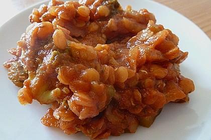 Vegetarisches Paprika-Linsen-Ragout 4