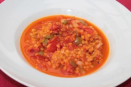 Vegetarisches Paprika-Linsen-Ragout 2