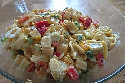 Curry-Tortellini-Salat