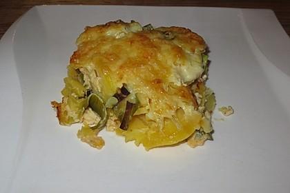 Kartoffel-Lauch Auflauf (Bild)