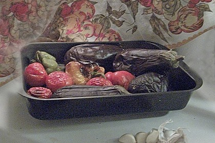 Auberginensalat nach kaukasischer Art