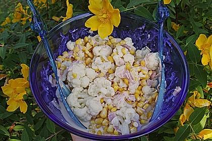 Blumenkohlsalat 1