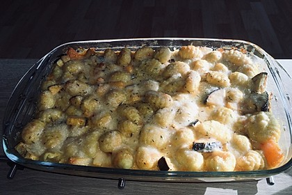 Gnocchi und Hähnchen in Paprikarahm (Bild)