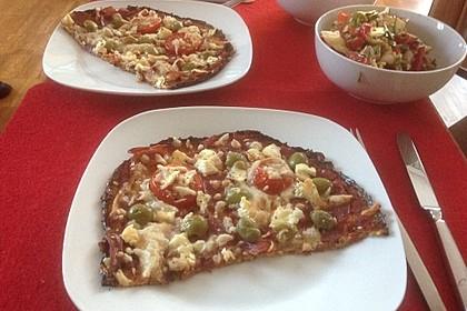 Low Carb Pizzaboden aus Blumenkohl 96
