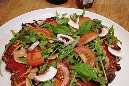 Low Carb Pizzaboden aus Blumenkohl 92