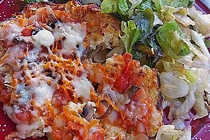 Low Carb Pizzaboden aus Blumenkohl 47