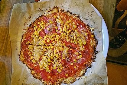 Low Carb Pizzaboden aus Blumenkohl 103