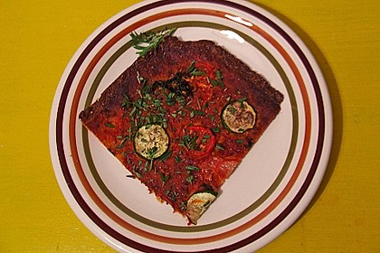 Low Carb Pizzaboden aus Blumenkohl 133