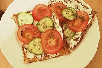 Low Carb Pizzaboden aus Blumenkohl 43