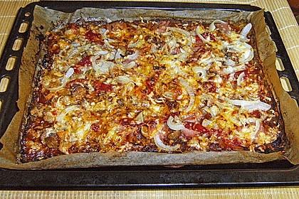 Low Carb Pizzaboden aus Blumenkohl 130