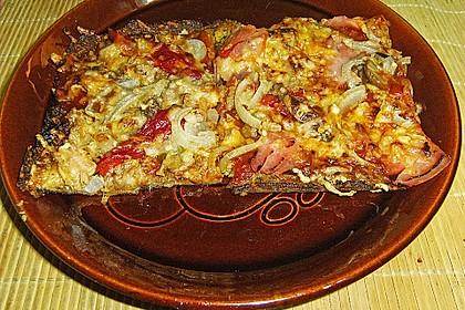 Low Carb Pizzaboden aus Blumenkohl 113