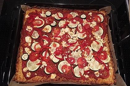 Low Carb Pizzaboden aus Blumenkohl 125