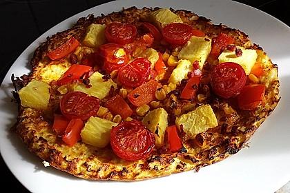 Low Carb Pizzaboden aus Blumenkohl 28