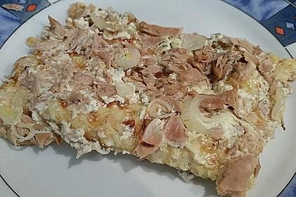 Low Carb Pizzaboden aus Blumenkohl 126