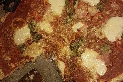 Low Carb Pizzaboden aus Blumenkohl 141