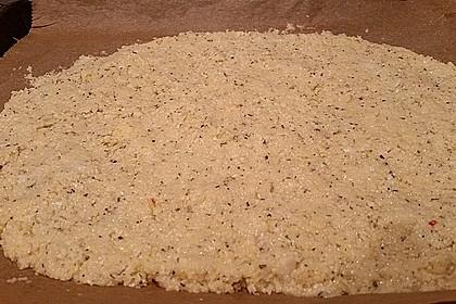 Low Carb Pizzaboden aus Blumenkohl 72