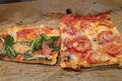 Low Carb Pizzaboden aus Blumenkohl 34