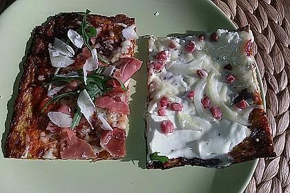 Low Carb Pizzaboden aus Blumenkohl 140