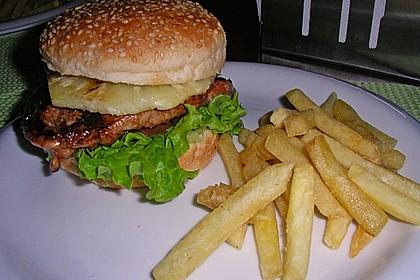 Don Diegos Teriyaki-Chicken & Pineapple-Burger