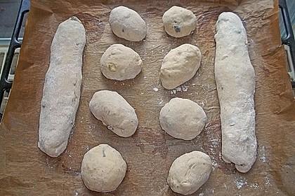 Pizzabrötchen mit Feta-Frischkäse Dip 26
