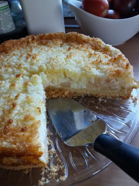 Apfel Quark Kokos Kuchen Von Baumfrau Chefkoch De