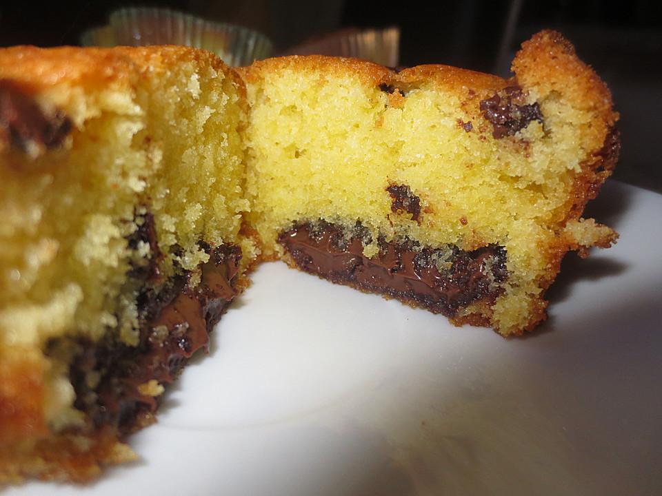 Muffins Mit Nutellafullung Von Best Cooking Ever Chefkoch De