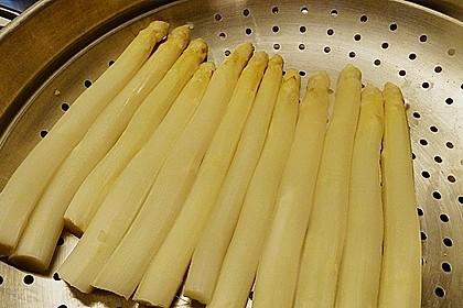 Spargel in Estragonsauce mit Kartoffeln 2