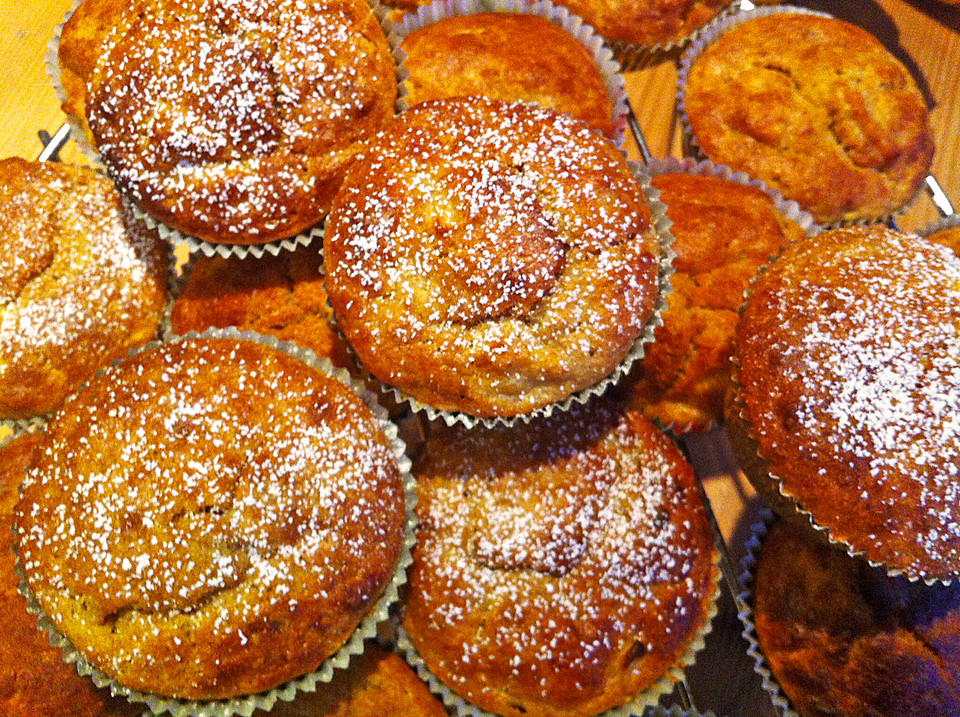 Bananen Apfel Muffins Von Zeecke Chefkoch De